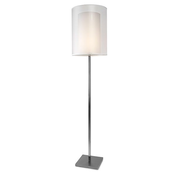 Tessuto vloerlamp 1 lichts 40x40x183