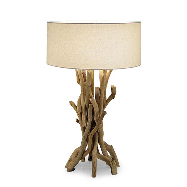 Driftwood tafellamp 40x40x65