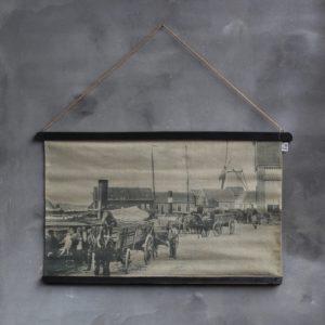 Wandkaart Vintage
